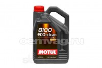 Масло моторное Motul 8100 Eco-clean 0W-30 (5л.)