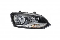 Двойная галогенная передняя правая фара Volkswagen Polo Sedan 15-