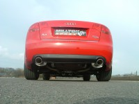 Выхлопная система Milltek Sport для Audi A4 2.0 TFSI B7 quattro and DTM с 2005 г. [CAT-BACK - 90mm Tailpipes]