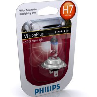 Лампа накаливания Philips Vision Plus H7 12V 55W (N10320102)